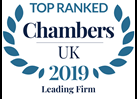 Chambers UK leading firm 2019